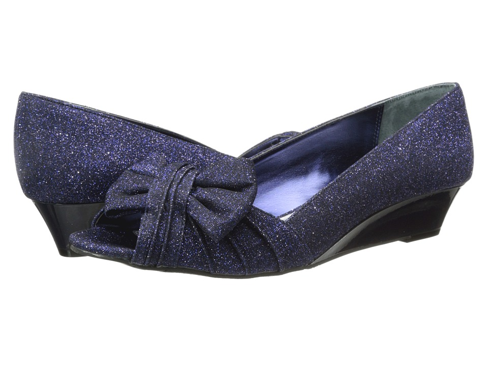 Nina - Rio (Navy) Women's Flat Shoes