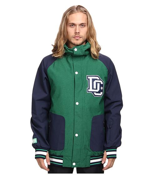 DC - DCLA 15 Jacket (Bright Green) Men's Coat