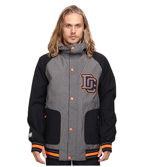 DC - DCLA 15 Jacket (Pewter) Men's Coat