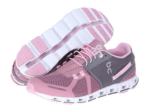 On - Cloud (Charcoal/Rose) Women's Running Shoes