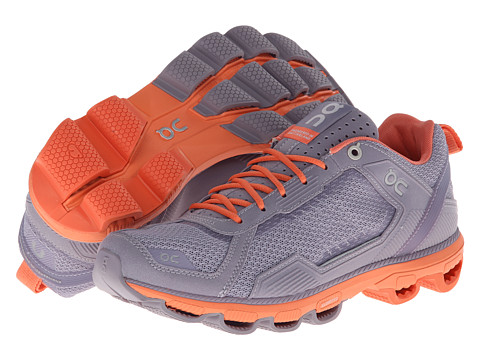 On - Cloudrunner (Grey/Salmon) Women's Running Shoes
