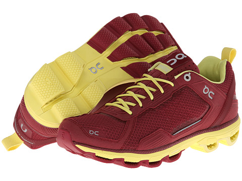 On - Cloudrunner (Tibetian Red/Limelight) Women
