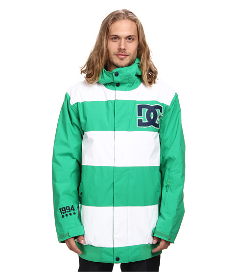 DC - Overdrive Jacket (Bright Green) Men's Coat