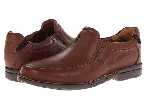 Clarks - Un.Corner Twin (Brown Leather) Men
