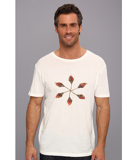 Gant Rugger - Roses Tee (Cream) Men's Clothing