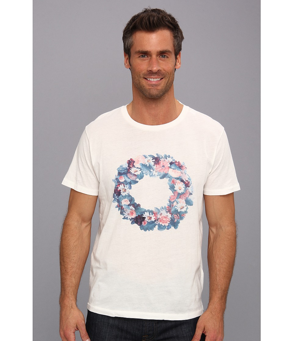 Gant Rugger - Midsummer Tee (Cream) Men