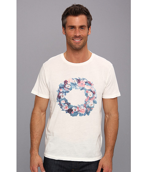 Gant Rugger - Midsummer Tee (Cream) Men's Clothing