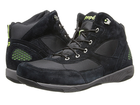 Propet - Mack (Black/Electric Lime) Men's Shoes