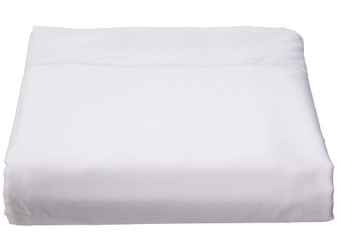Home Source International - 100% Rayon from Bamboo King Flat Sheet (White) Sheets Bedding