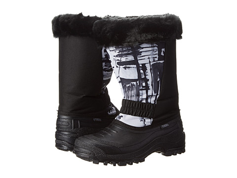 Tundra Boots - Glacier (Black White Log) Women