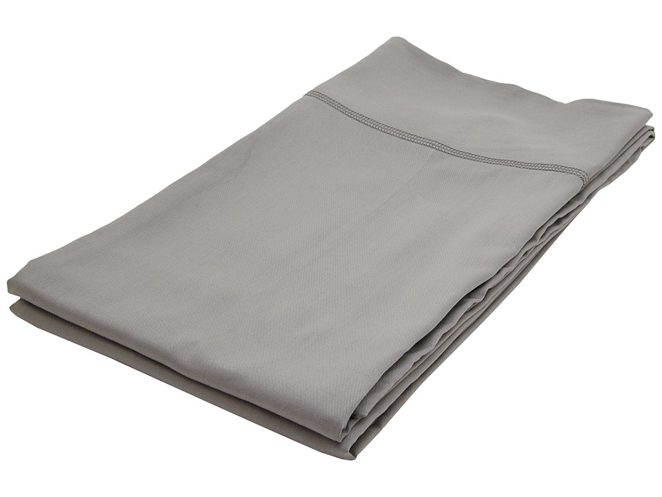 Home Source International - 100% Rayon from Bamboo King Pillowcases (Black Pearl) Sheets Bedding