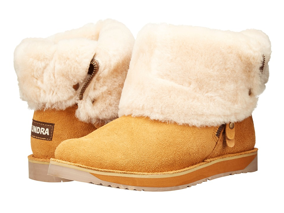 Tundra Boots - Alpine (Cognac) Women's Cold Weather Boots