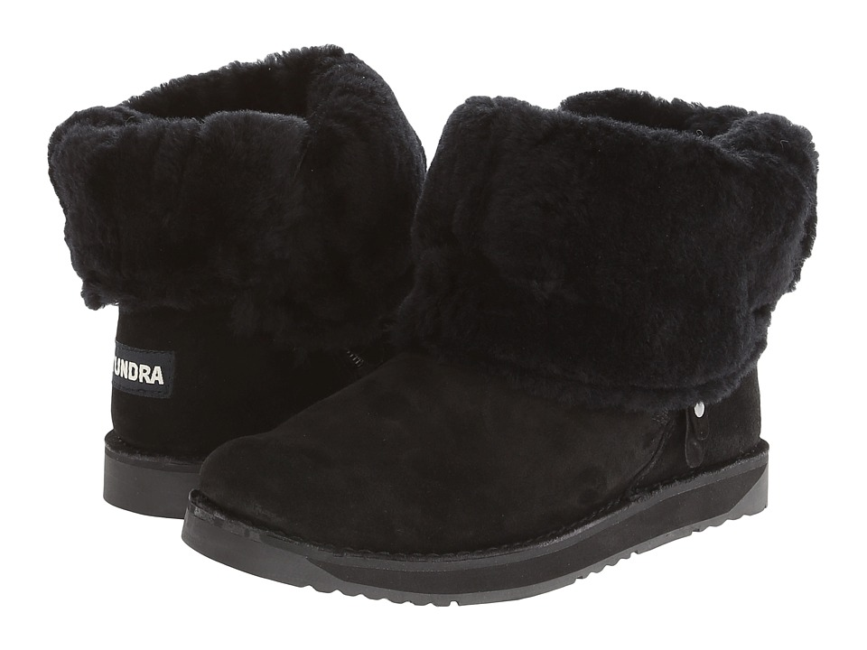Tundra Boots - Alpine (Black) Women's Cold Weather Boots