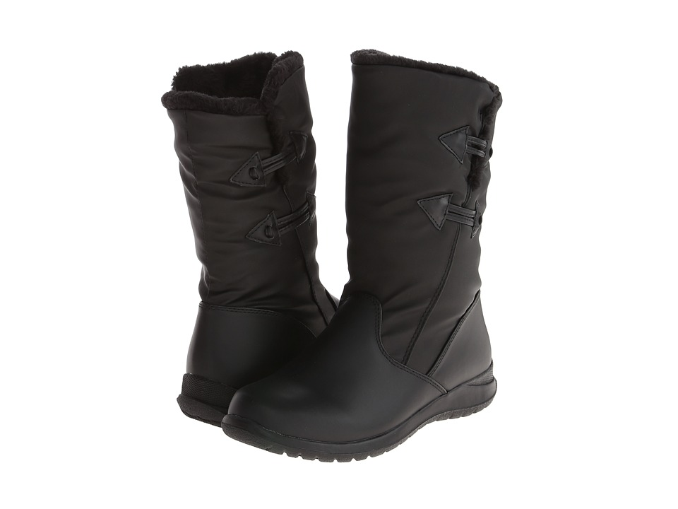Tundra Boots - Jacklyn (Black) Women's Cold Weather Boots