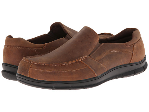 Propet - Dylan Slip-On (Brown) Men's Slip on Shoes