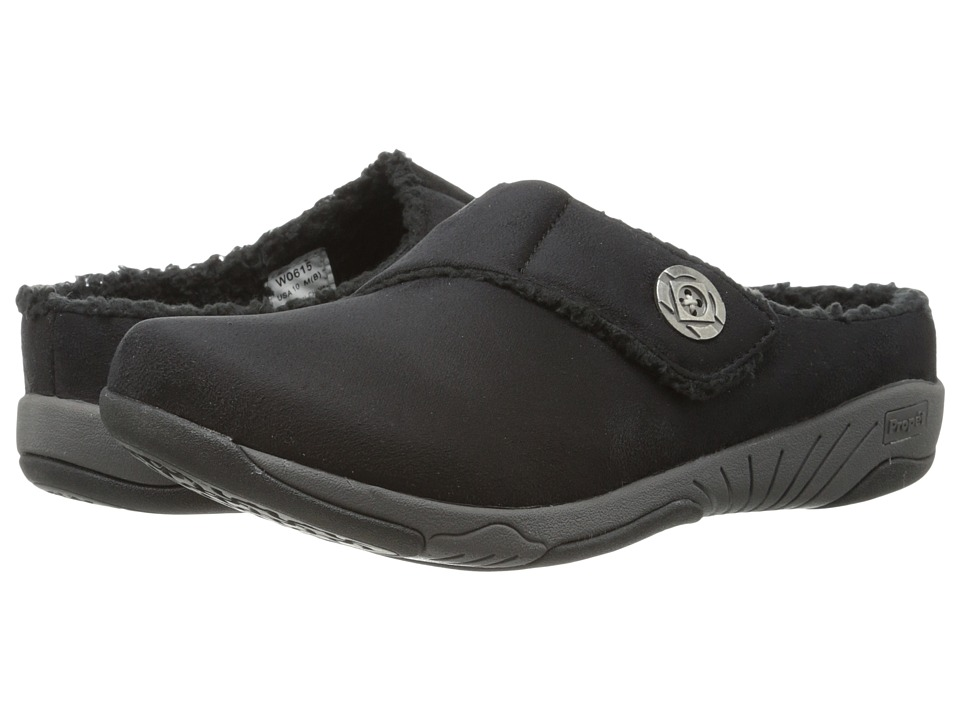 Propet - Morgan (Black Velour) Women's Shoes