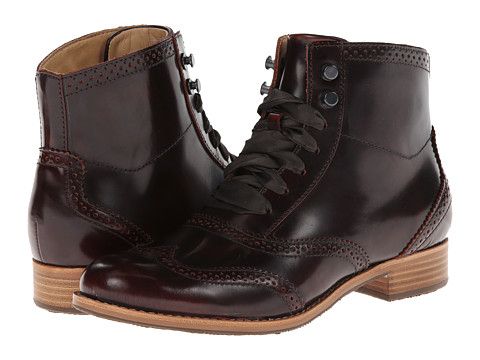 Sebago - Claremont Boot (Burgundy Brush Off) Women's Lace-up Boots