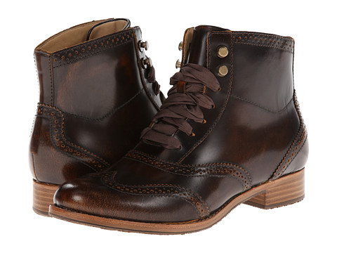 Sebago - Claremont Boot (Brown Brush Off) Women's Lace-up Boots