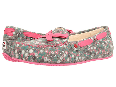 UGG - Belle (Cool Green Floral Suede) Women's Shoes