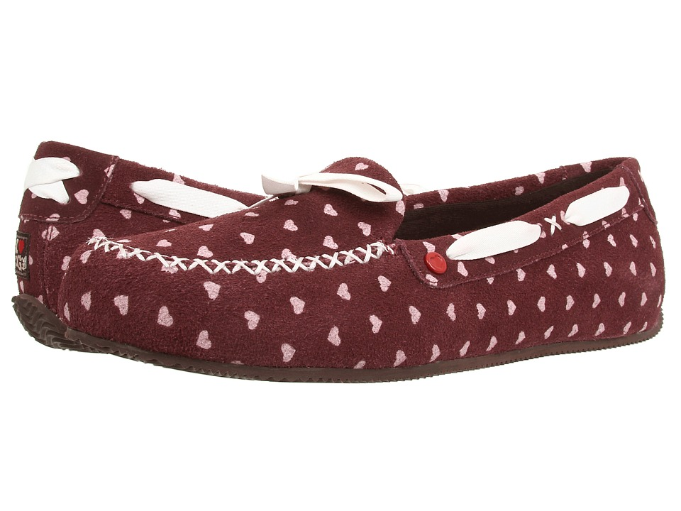 UGG - Belle (Berry Crush Hearts Suede) Women's Shoes