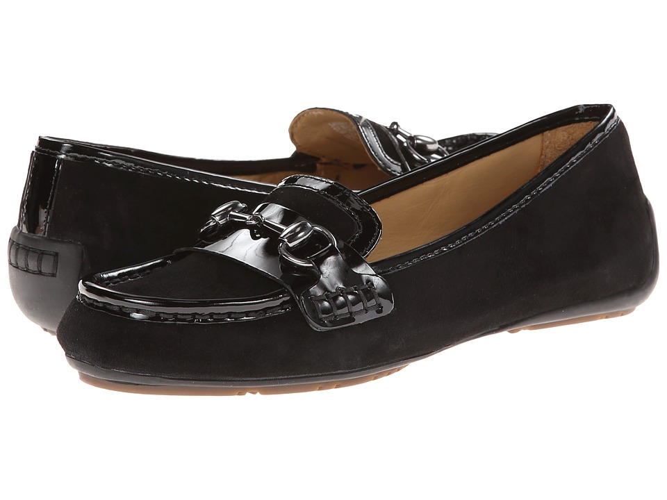 Sebago - Saybrook Link (Black Suede/Patent) Women's Shoes