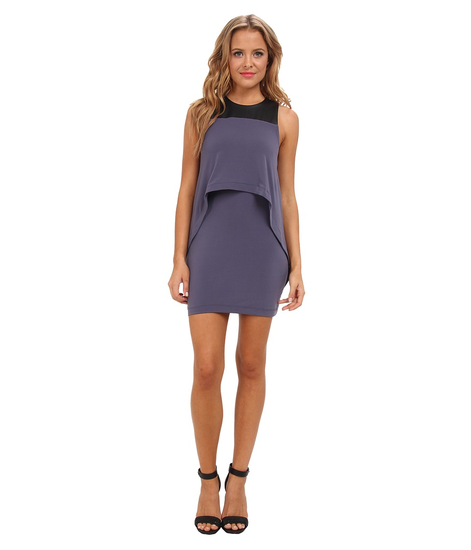 BCBGeneration - Double Layer Tank Dress (Vapor) Women