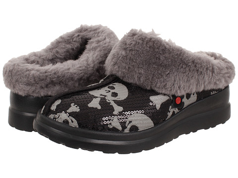 UGG - Dreams (Black Sequin Skulls) Women's Slippers
