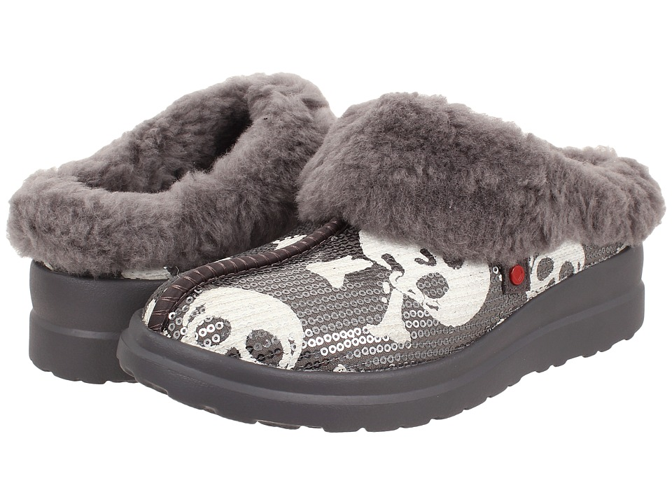 UGG - Dreams (Grey Sequin Skulls) Women's Slippers