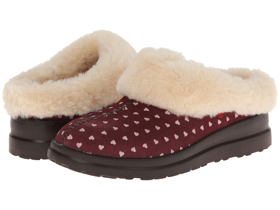 UGG Dreams (Berry Crush Hearts Suede) Women