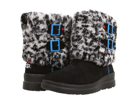 UGG - Buckle Down (Snow Leopard Suede) Women