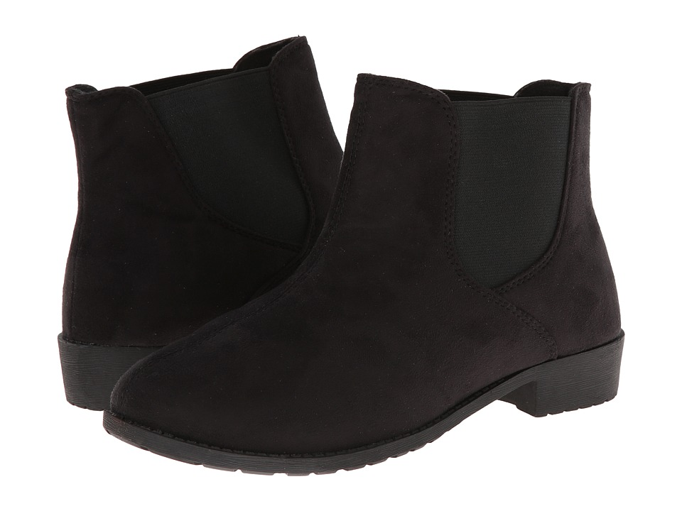 Propet - Scout (Black Velour) Women's Shoes