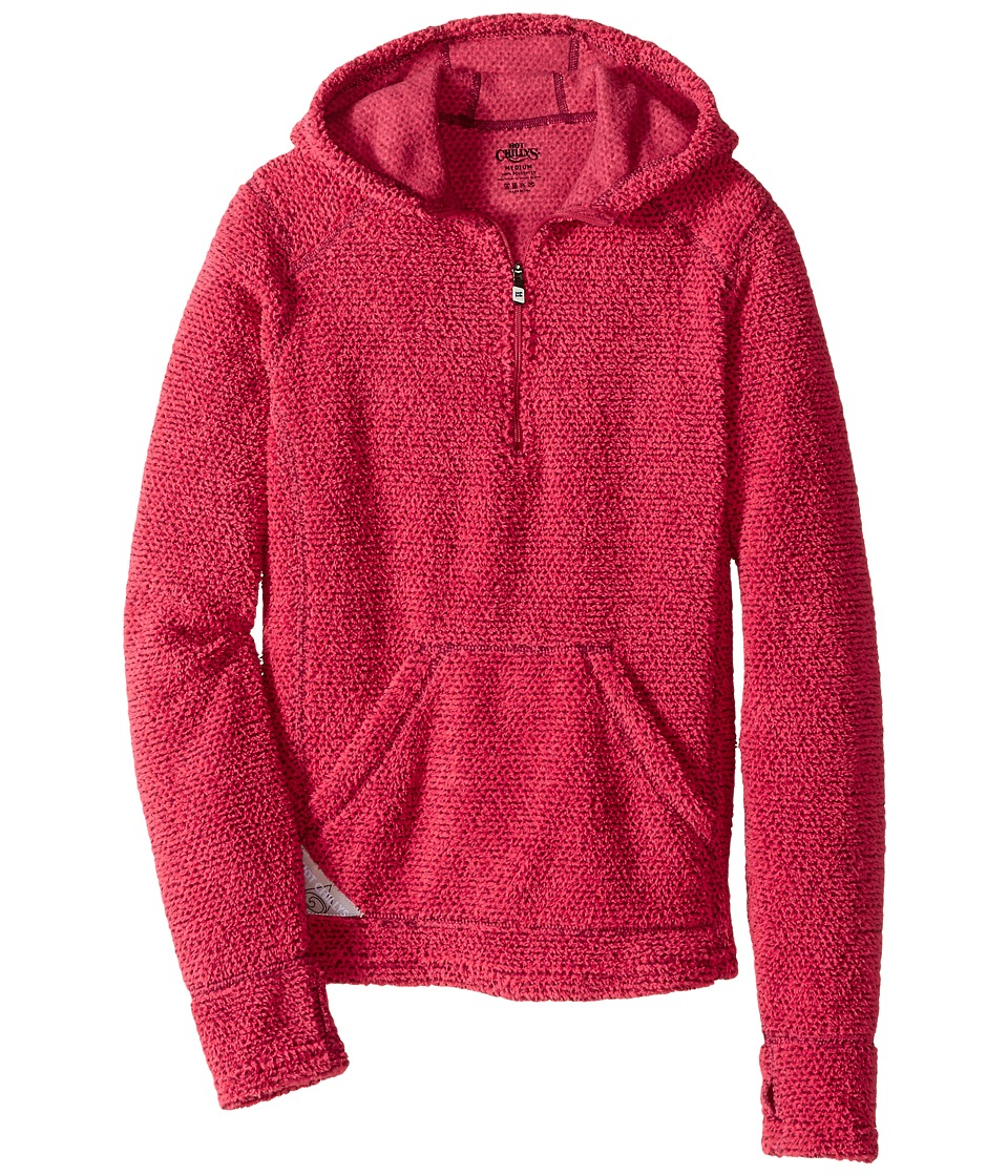 Hot Chillys Kids - Pico Hoodie (Little Kids/Big Kids) (Rose) Girl's Long Sleeve Pullover