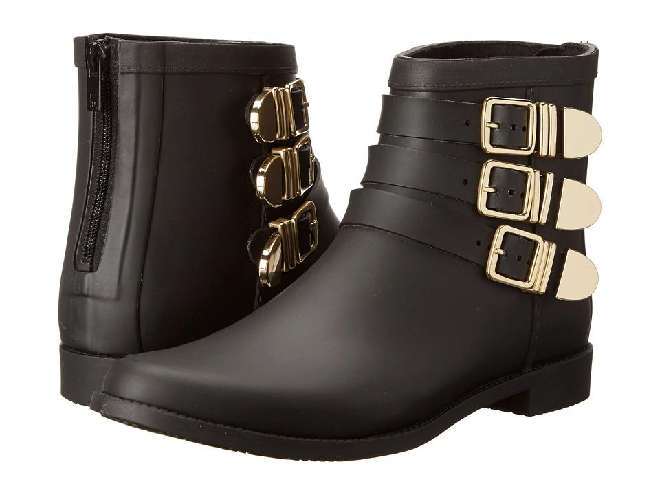 Loeffler Randall - Rain Fenton (Black/Gold) Women's Zip Boots
