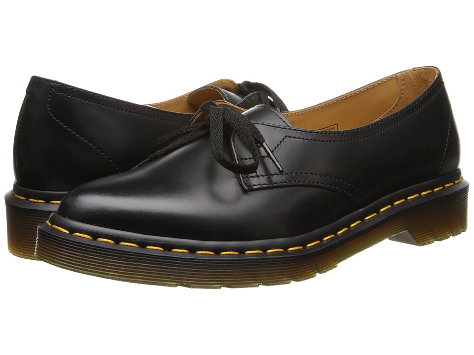 Dr. Martens - Siano Ghillie Pump (Black Polished Smooth) Women