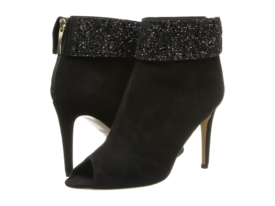 Kate Spade New York - Bates (Black Suede/Black Glitter) Women's Shoes