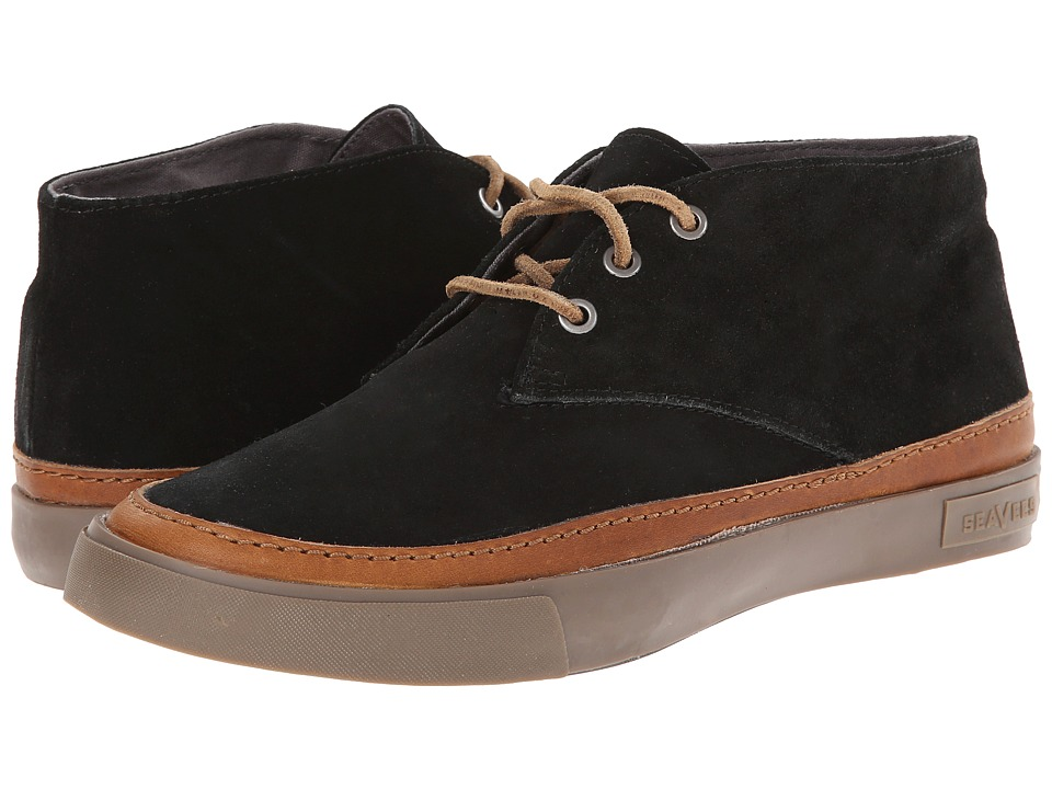 SeaVees - 12/62 Maslon Desert Boot (Black) Men