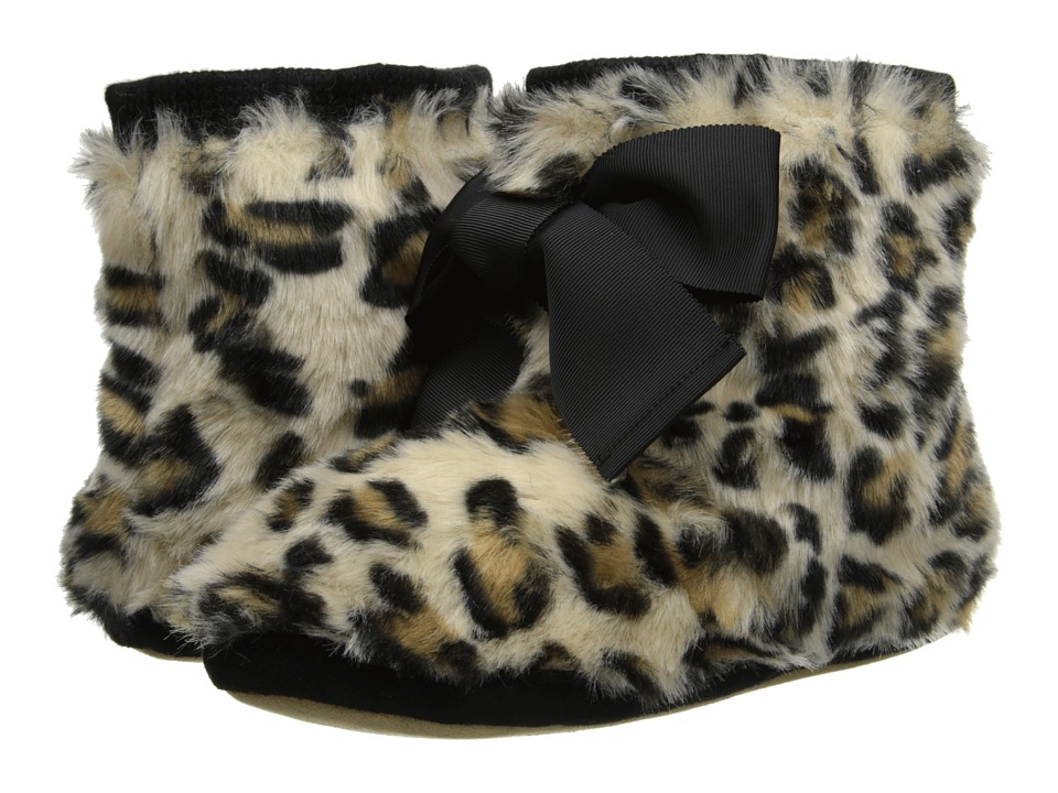 Kate Spade New York - Fabian (Sand Leopard Print Faux Fur) Women's Slippers