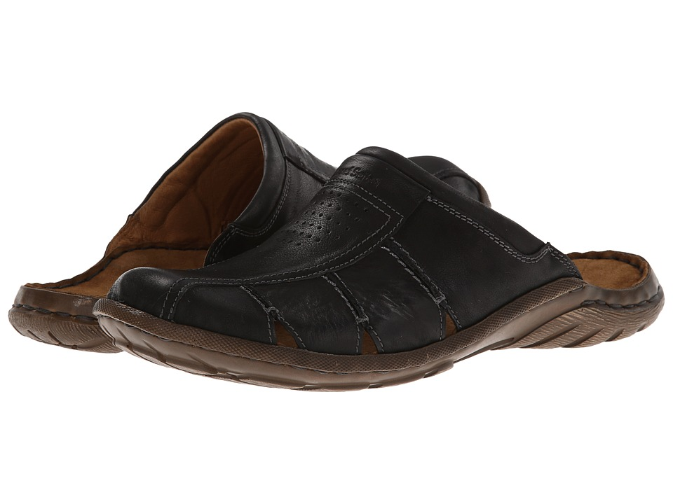 Josef Seibel - Logan 22 (Black Bolero) Men's Slip on Shoes