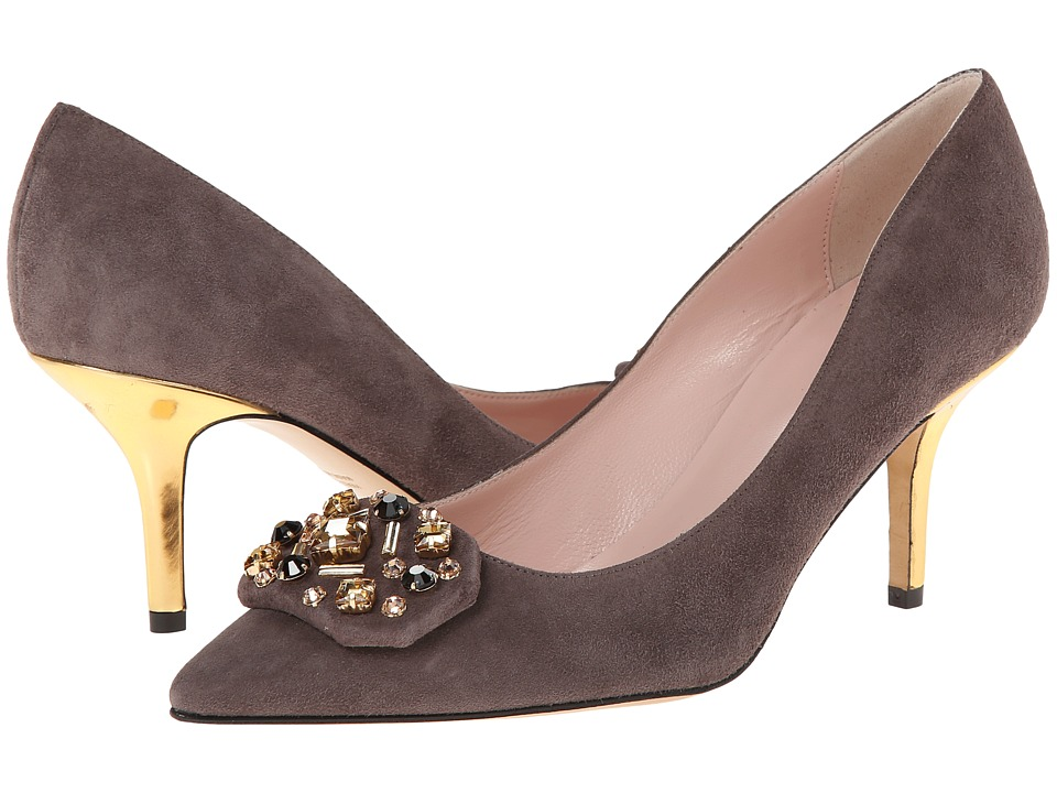 Kate Spade New York - Jottle (Dark Taupe Suede) Women's Shoes