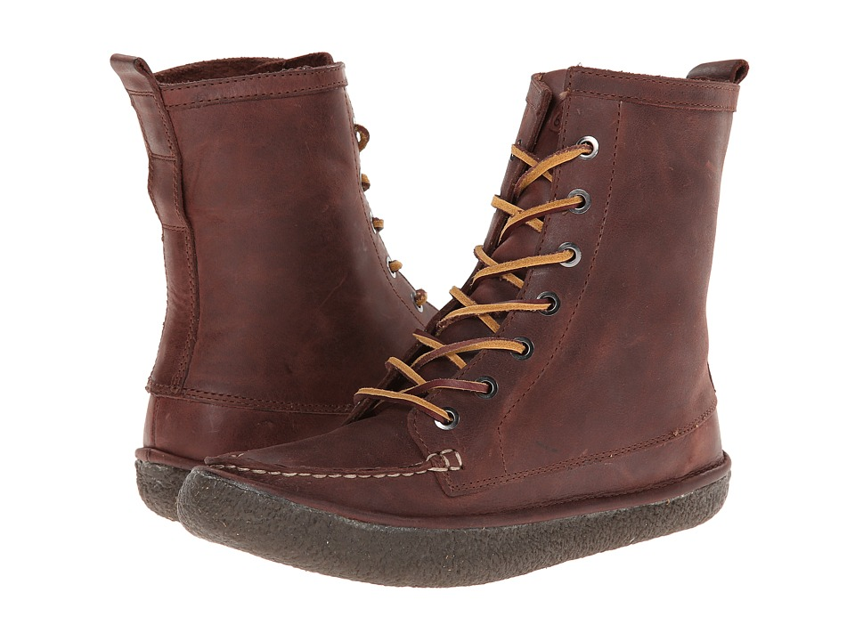SeaVees - 02/60 7 Eye Trail Boot (Walnut) Women's Boots