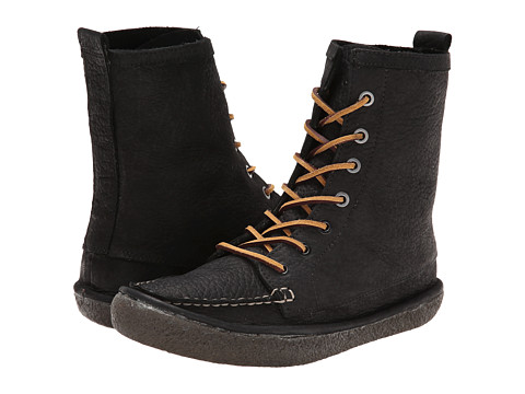 SeaVees - 02/60 7 Eye Trail Boot (Black Iron) Women's Boots