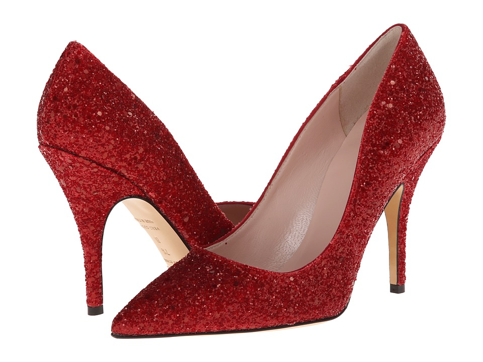 Kate Spade New York - Licorice (Red Glitter) High Heels
