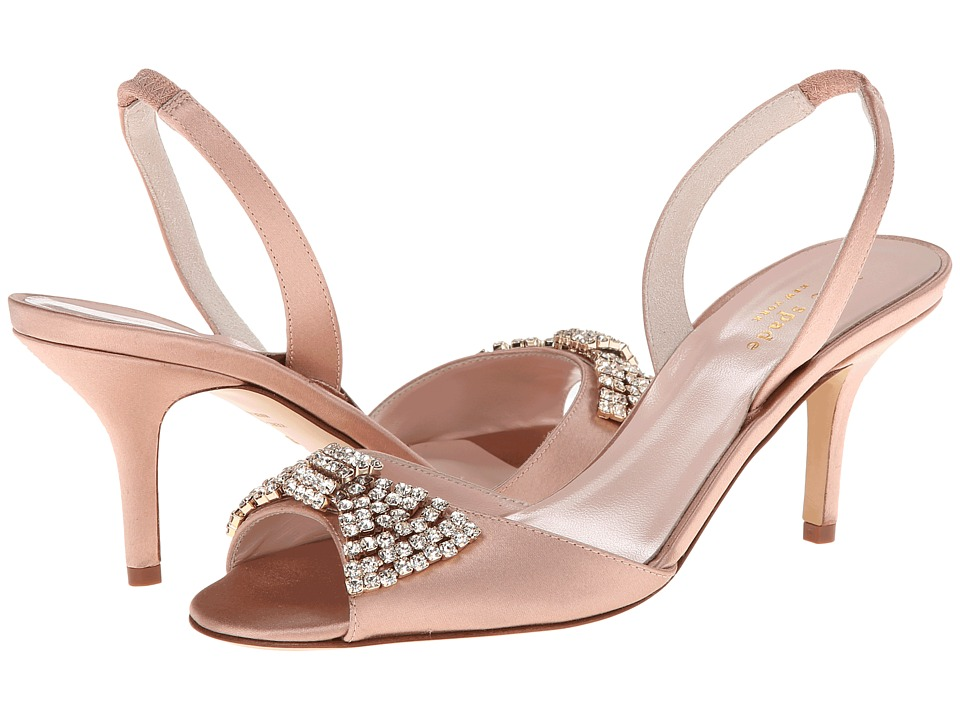 Kate Spade New York Miva (Dusty Pink Satin) High Heels