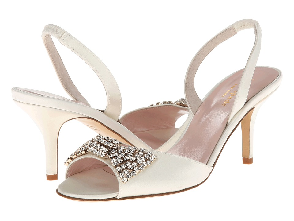 Kate Spade New York - Miva (Ivory Satin) High Heels