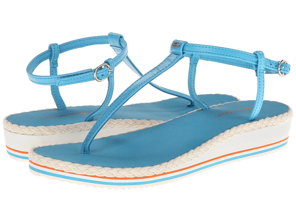 Lacoste - Lise (Light Blue) Women's Sandals