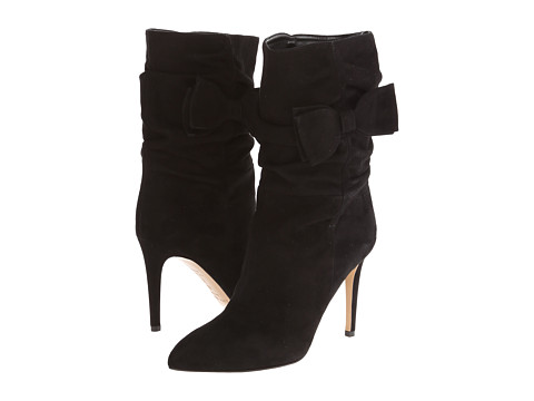 Kate Spade New York - Nod (Black Suede) Women's Dress Pull-on Boots