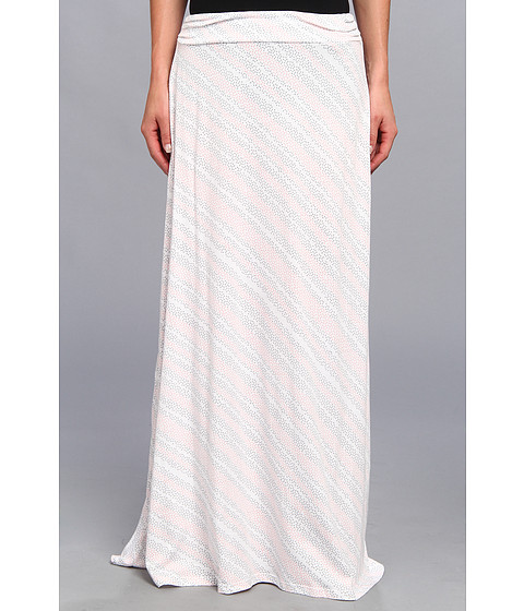 Alternative - Printed Peony Skirt (Salmon Dot Stripe) Women