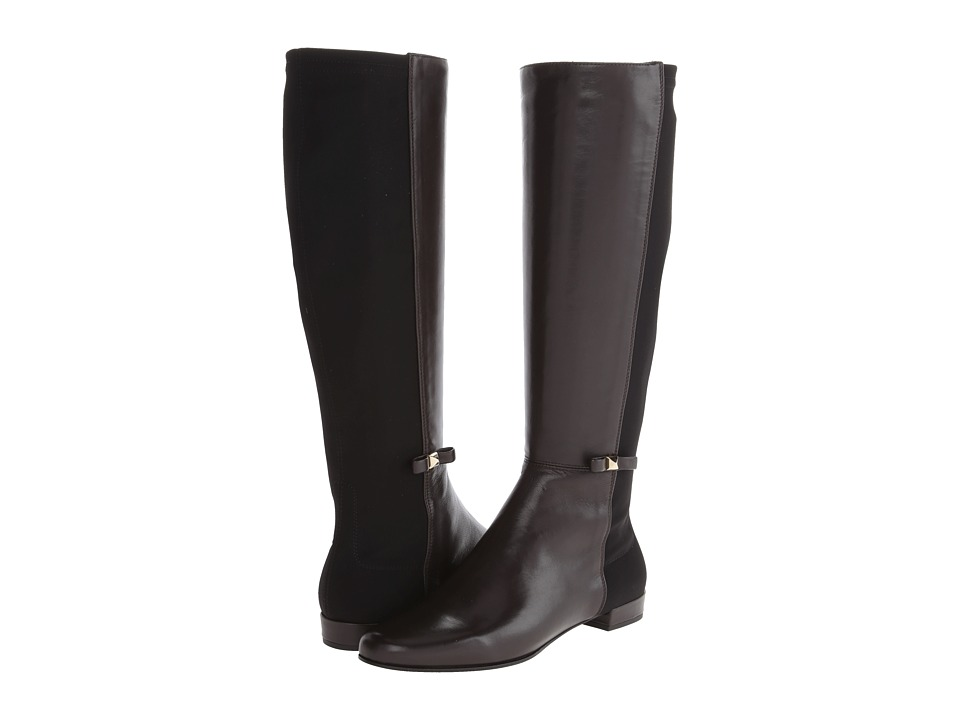 Kate Spade New York - Olivia (Chocolate Nappa/Elastic) Women's Pull-on Boots
