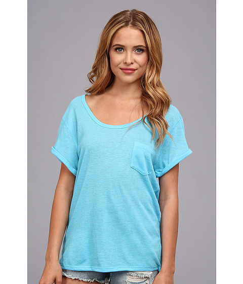 Alternative - Eco-Gauze Rubik's Top (Eco Aquarius) Women's T Shirt