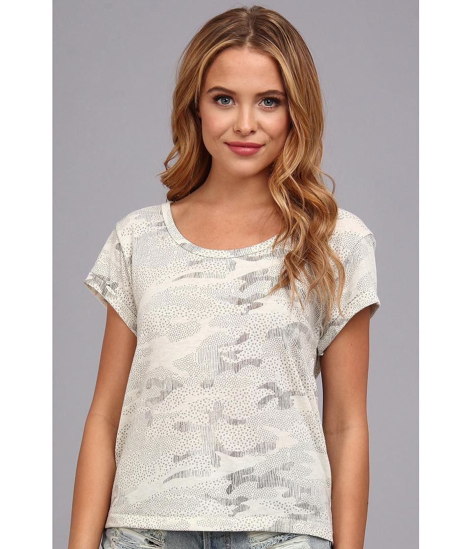 Alternative - Dreamer Tee (Nickel Texture Camo) Women's Short Sleeve Pullover